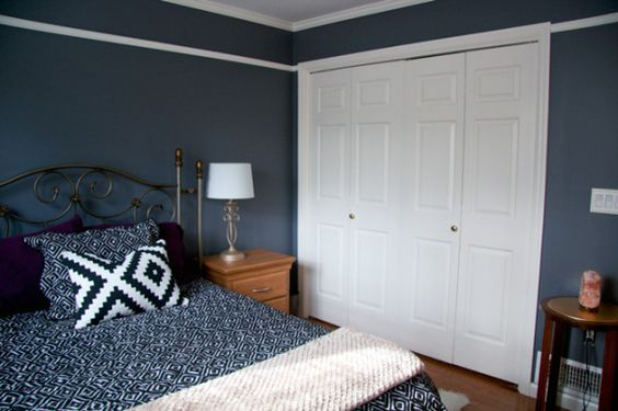 Master Bedroom Wall Color Benjamin Moore Ashland Slate 1608 Our House Pinterest Benjamin