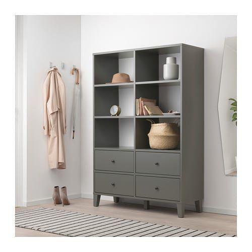 Bryggja Storage Unit Dark Gray Bedroom Storage For Small Rooms Ikea Storage Units Bedroom Storage