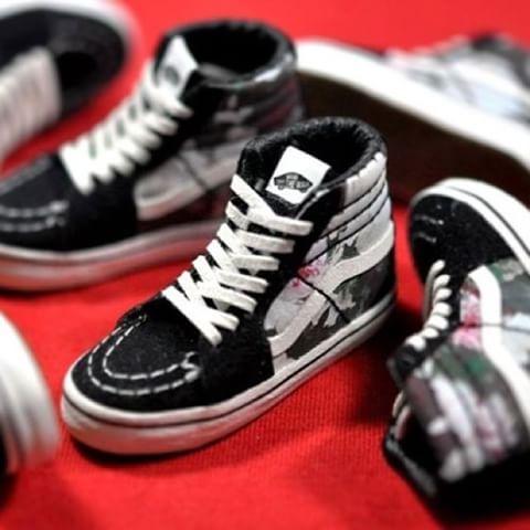 1/6 scale handmade shoes(5.5cm) Vans x