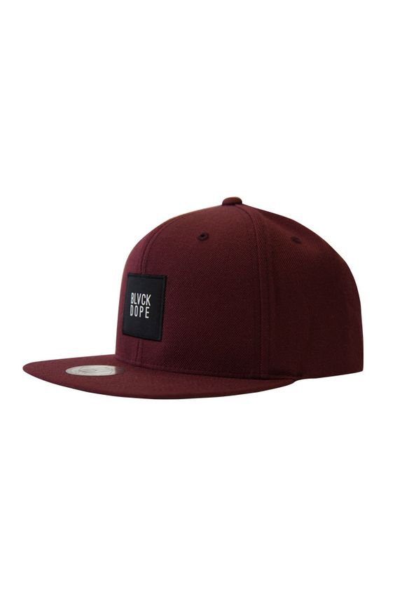 SNAPBACK BORDEAUX BOX LOGO