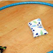 Kröten rennen Kinderspiel Geburtstagsspiel für Kinder