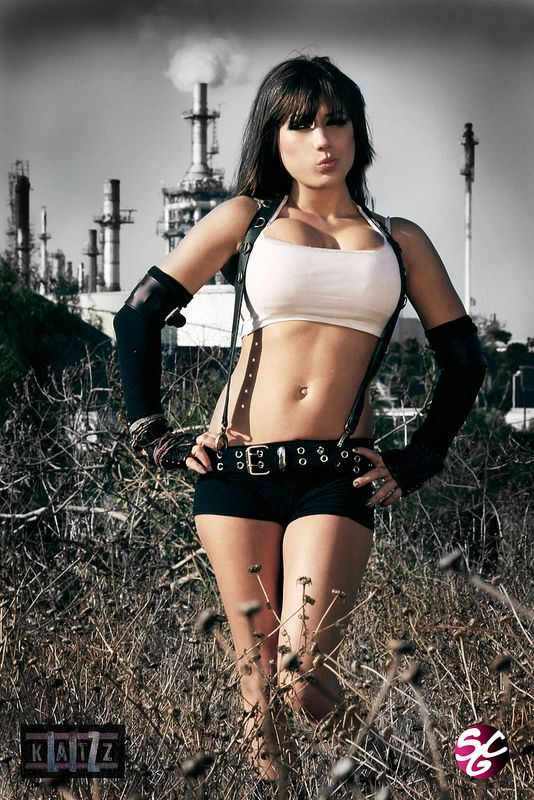 "patientcomicaddict: "" TIFA LOCKHART cosplay by Liz Katz """
