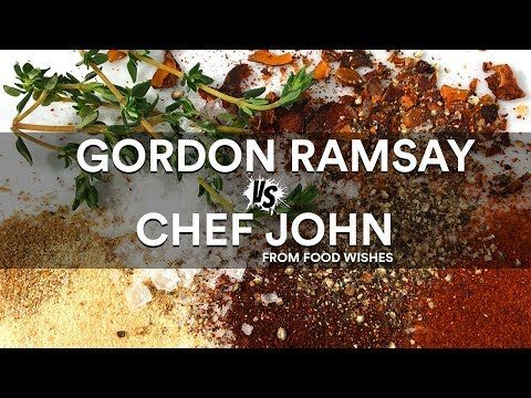 Gordon Ramsay Vs Chef John From Food Wishes Sous Vide Battle Bing Video Food Wishes Gordon Ramsay Ramsay Chef
