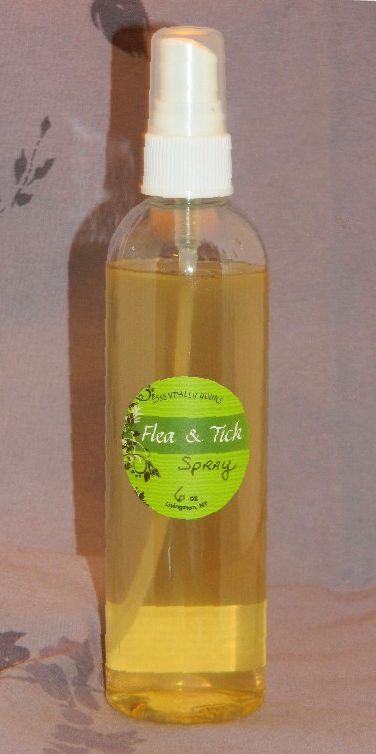 All natural Flea & Tick Spray