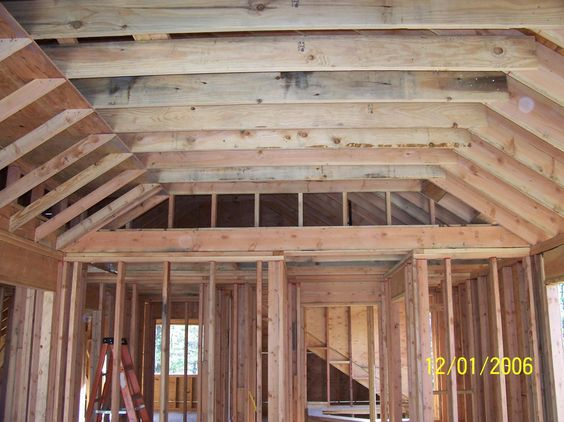Not have the vaulted ceiling come to a point home for Vaulted vs cathedral ceiling