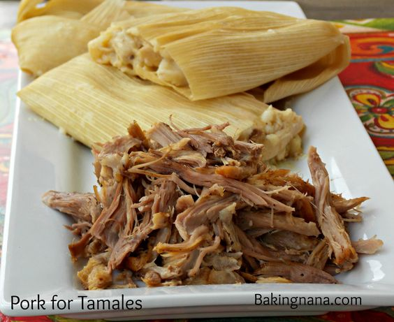 Simple and delicious - Pork for Tamales