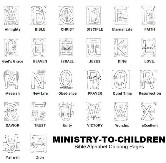 Coloring Alphabet and Alphabet
