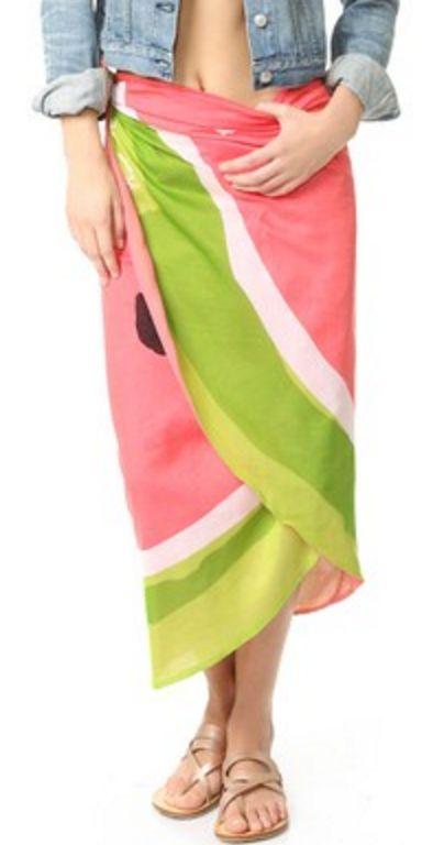 Kate Spade Watermelon Sarong/Scarf