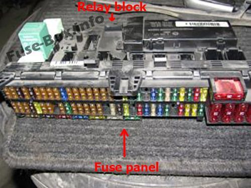 2002 Bmw Fuse Box Location