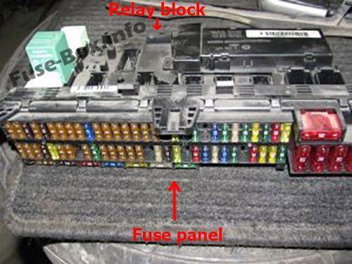 e53 fuse box location  wiring diagram operation penendure
