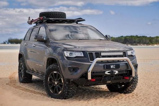 Chief Products Jeep Grand Cherokee Wk2 Hidden Winch Mount