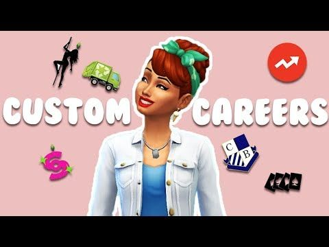 Youtube Sims 4 Jobs Sims 4 Characters Sims 4