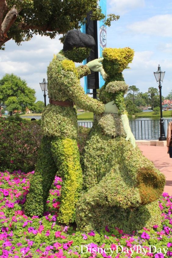 Silent Sunday in the Park - Cinderella - Epcot Flower and Garden Festival