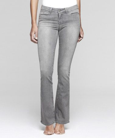 yummie by Heather Thomson Light Gray Slim Shaper Bootcut Jeans ...