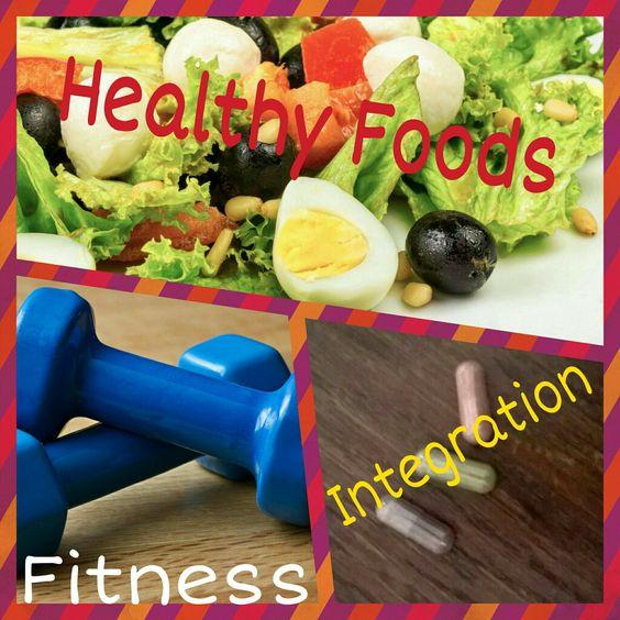 I tre ingredienti per ritrovare la forma: cibi sani, fitness e integrazione ☺