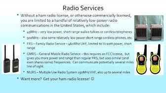 ham radio technician class license course - YouTube