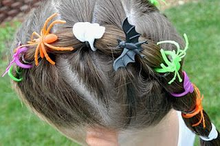 Halloween Hairdos: Spider Rings: Kids Hair, Craft Kids, Holidays Halloween Ideas, Halloween Hairdos, Hairdos Spider, Kids Ideas, Kids Halloween