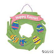 Handprint Easter Wreaths Craft Kit