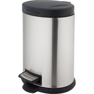 Better Homes And Gardens 5 Liter Oval Step Trash Can 13