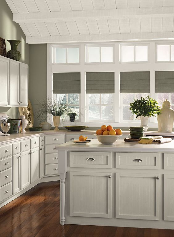 Benjamin moore copley grey walls november rain for Kitchen paint colors grey
