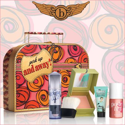 Full of perky and flirty favorites for cheeks, lips and more, this festive suitcase is sure to keep everyone on your list looking lovely & luminous all season long!