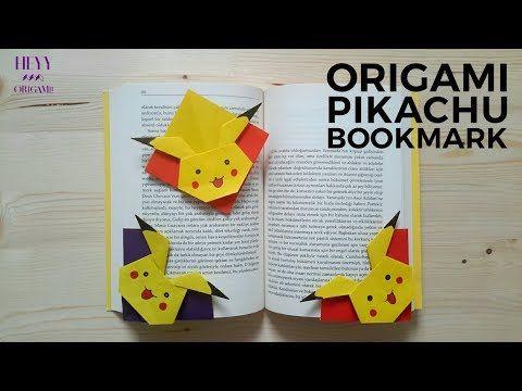 Origami pikachu (head)-pokemon origami pikachu-how to make origami ... | 360x480