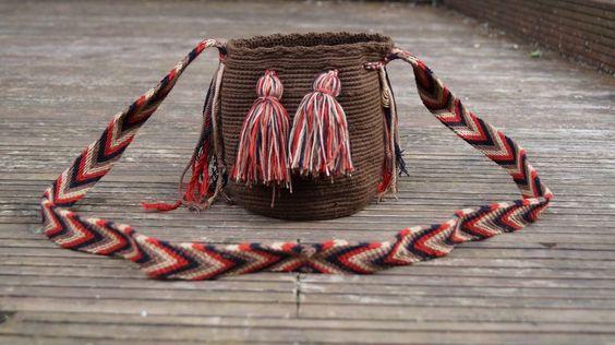 Handmade ladies boho chic crossbody bag, WAYUU BAG coachella bohemian handbag in Clothes, Shoes & Accessories, Women's Handbags | eBay