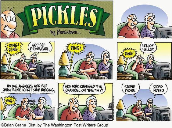 Pickles Cartoon for Jul/29/2012 Ring Ring