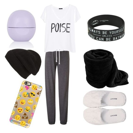 """Sunday"" by smsjeter ❤ liked on Polyvore featuring MANGO, GANT, Topshop, Phase 3 and Casetify"