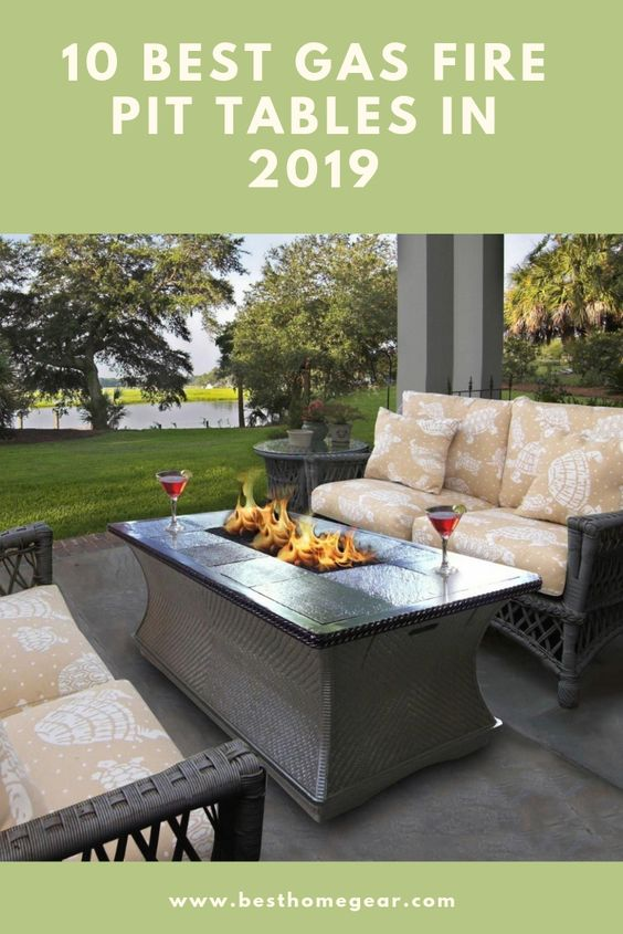 10 Best Gas Fire Pit Tables For 2020 Best Home Gear Fire Pit Coffee Table Gas Fire Pits Outdoor Gas Firepit