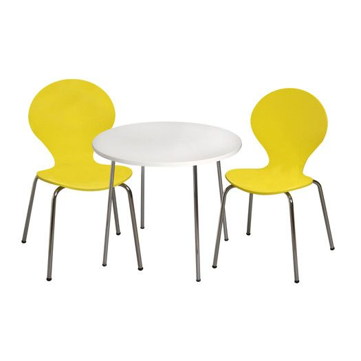 Gift Mark Kid's 3 Piece Table and Chair Set | AllModern