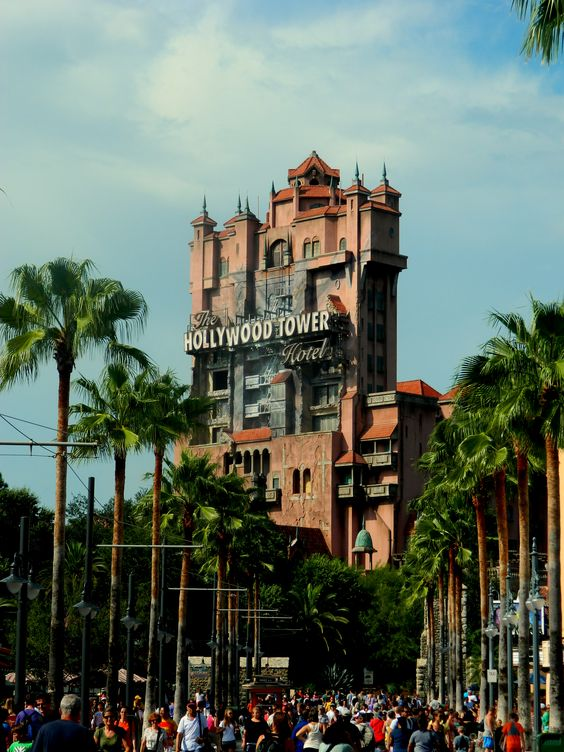 Tower of Terror, Hollywood Studios, WDW.