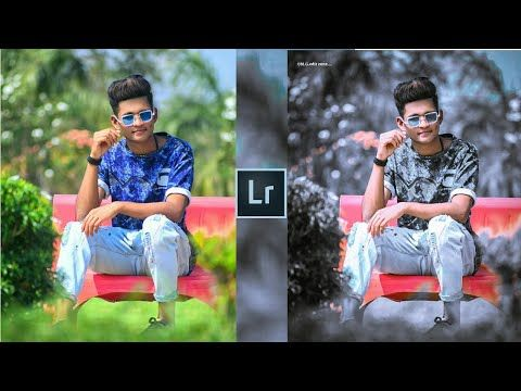 Lightroom Black And Blue Effect Photo Editing Tutorial In Mobile Preset Download Free Youtube Photo Editing Tutorial Photo Editing Editing Tutorials