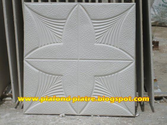 faux plafond placoplatre model 3 - Plako Platre