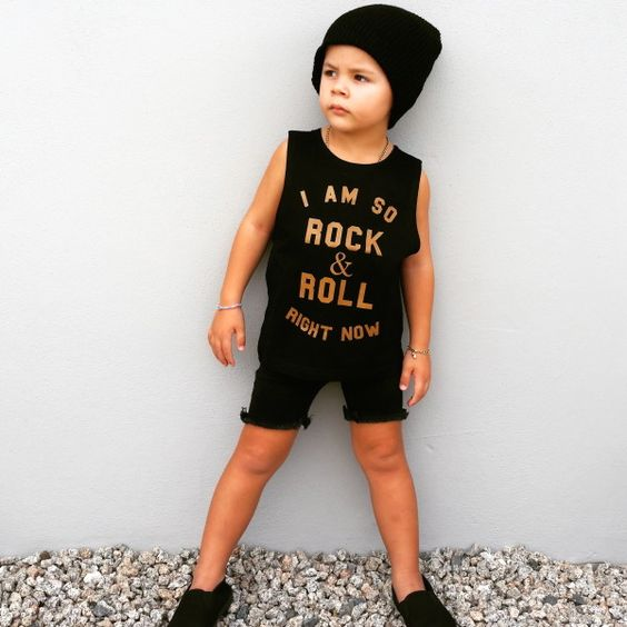 Rock & Roll Muscle Tank
