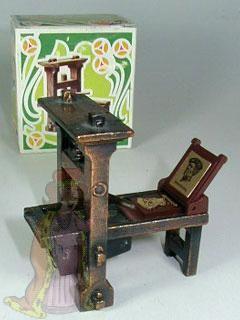 Guttenberg Printing press pencil sharpener