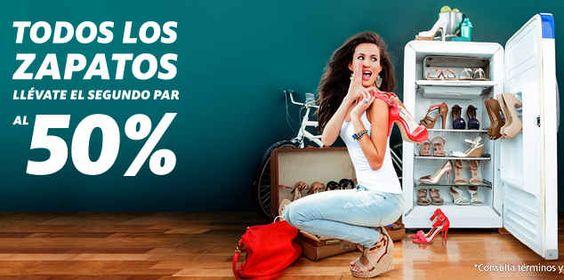 C&A: Promo 2×1 y medio en zapatos C&A tiene tiene una muy buena oferta y promoción, pues esta ofreciendo hasta 50% de descuento en el segundo par dezapatos para toda la familia (mujer, hombre y niños) en oferta al 2×1 y medio por lo que al comprar un par, puedes llevar uno má... -> http://www.cuponofertas.com.mx/oferta/ca-promo-2x1-y-medio-en-zapatos/