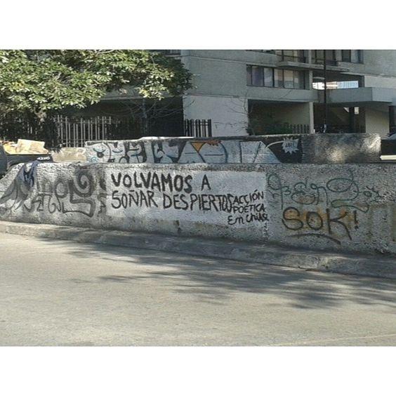 Volvamos a soñar despiertos #Acción Poética Chile #accionpoetica