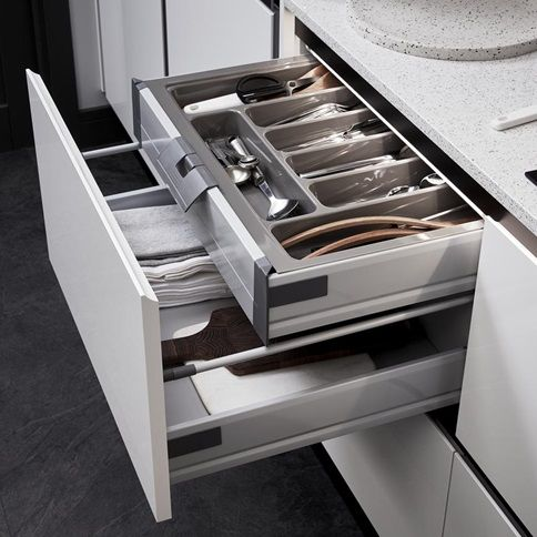 Tuck Away Your Cutlery While Keeping It Easily Accessible By