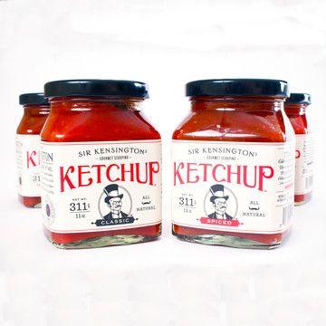 Sir Kensington's artisan ketchup.