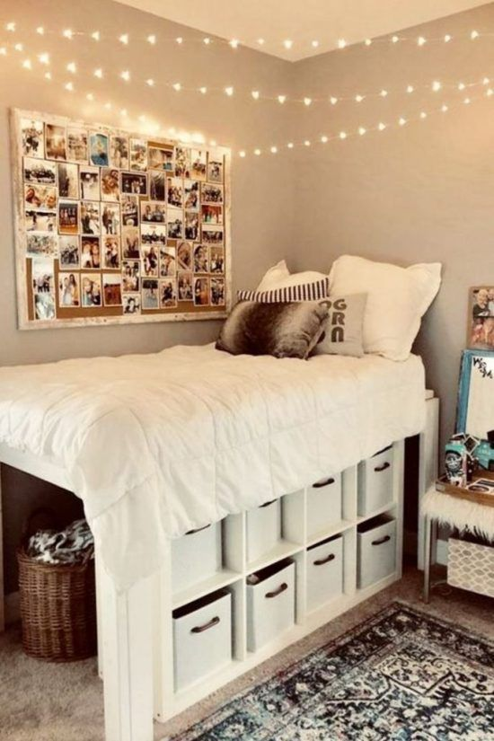 25 Cute College Dorm Decorations You Need To Buy Asap Society19 In 2020 Dorm Room Diy Cool Dorm Rooms Dorm Room Designs