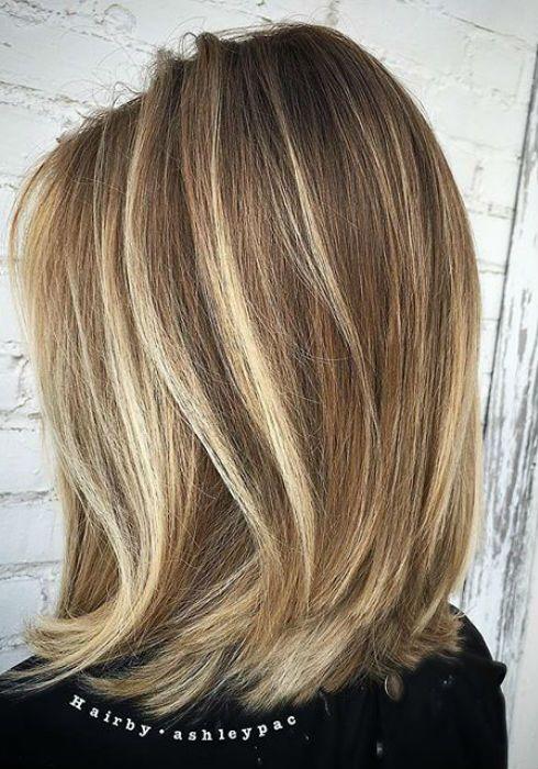 Balayage For Straight Hair Balayage On Straight Hair Short Medium Length Long Straight Hairstyles Balayage Hair Balayage Straight Hair