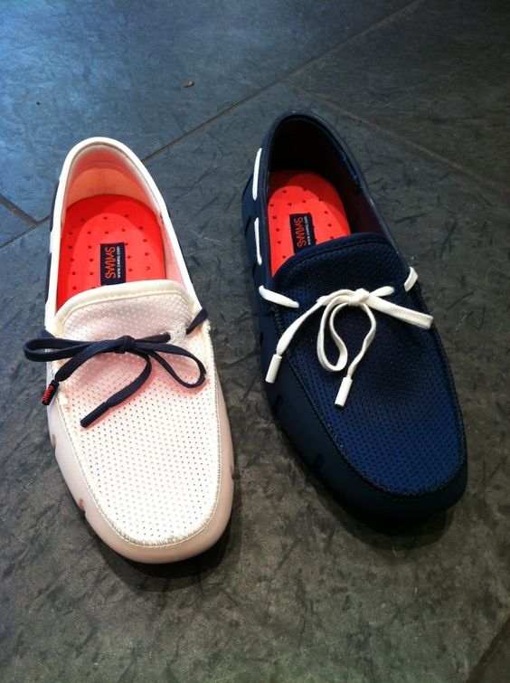Swims loafers…
