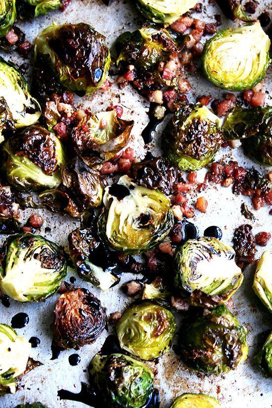 Ina Garten S Balsamic Brussels Sprouts Recipe Balsamic Brussel