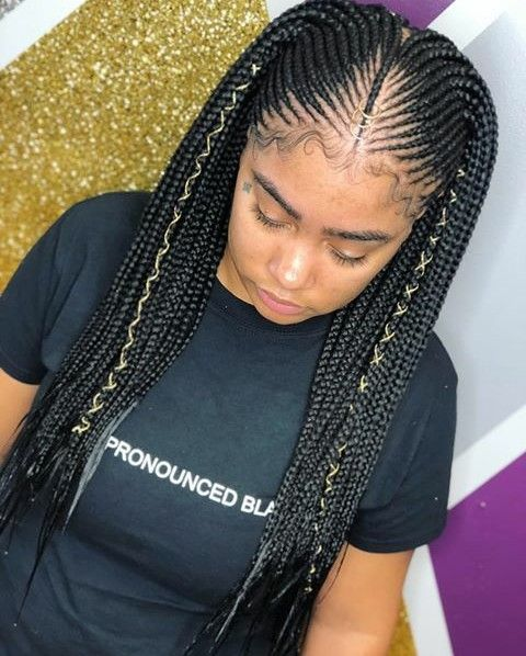 Pin By Misty Chaunti On Braided Up African American Braids Braided Hairstyles African American Braided Hairstyles