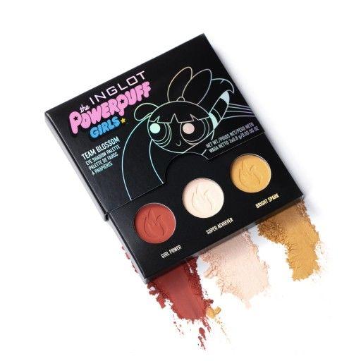 Paleta Cieni Team Blossom Inglot X Atomowki 8665132636 Oficjalne Archiwum Allegro Eyeshadow Powerpuff Girls Makeup Powerpuff Girls