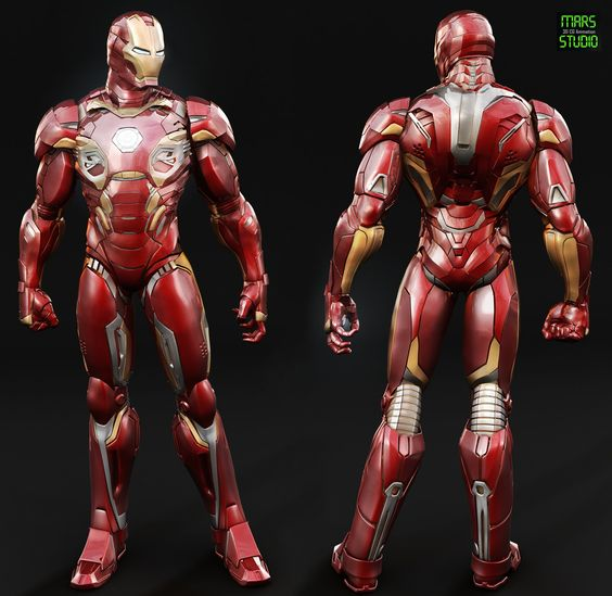 Iron Man : Mark 45 (Avengers age of ultron) , mars ... on ArtStation at https://www.artstation.com/artwork/iron-man-mark-45-avengers-age-of-ultron