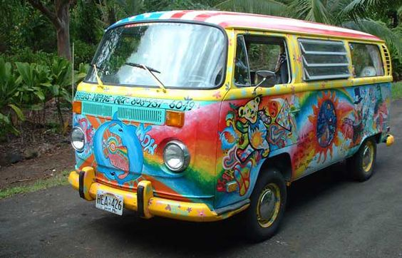 Hippy VW Bus