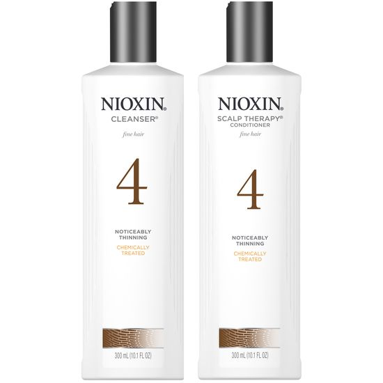 nioxin system 4 shampoo and conditioner duo 10 oz