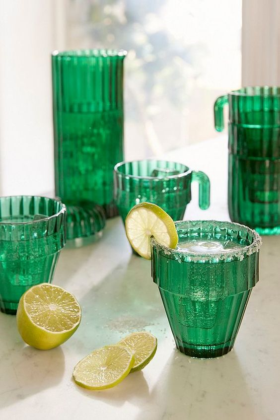 Slide View: 1: DOIY Design Saguaro Stacking Glass - Set of 6